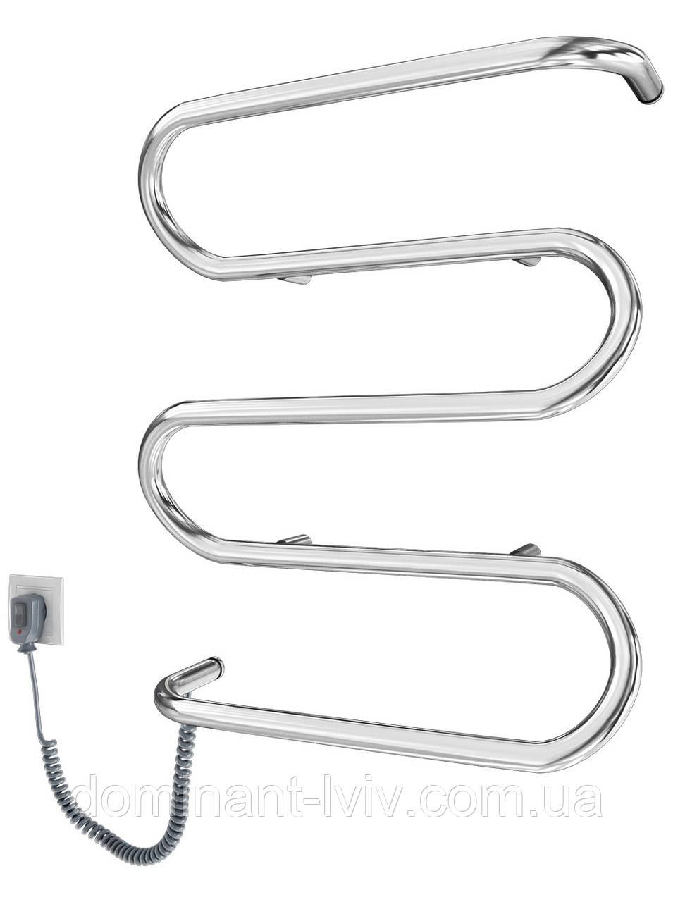 Электрический полотенцесушитель Mario Лиана-I 600x500, електрична рушникосушка