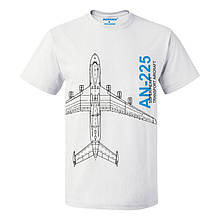 Футболка пилота AN-225, цвет: белый, AVIAMERCH™