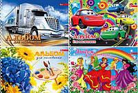Альбом для малювання 50 арк. на спіралі А4, СКАТ 100гр/м2, 30шт/уп