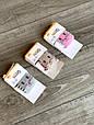 Дитячі демісезонні колготки BROSS асорті кольорів з зайчиками бавовна розмір 0-6 місяців, фото 6
