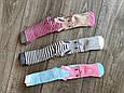 Дитячі демісезонні колготки BROSS асорті кольорів з зайчиками бавовна розмір 0-6 місяців, фото 8