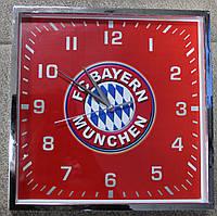 Часы настенные с символикой  FC Baern
