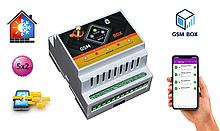GSM РОЗЕТКА термостат на пять каналов