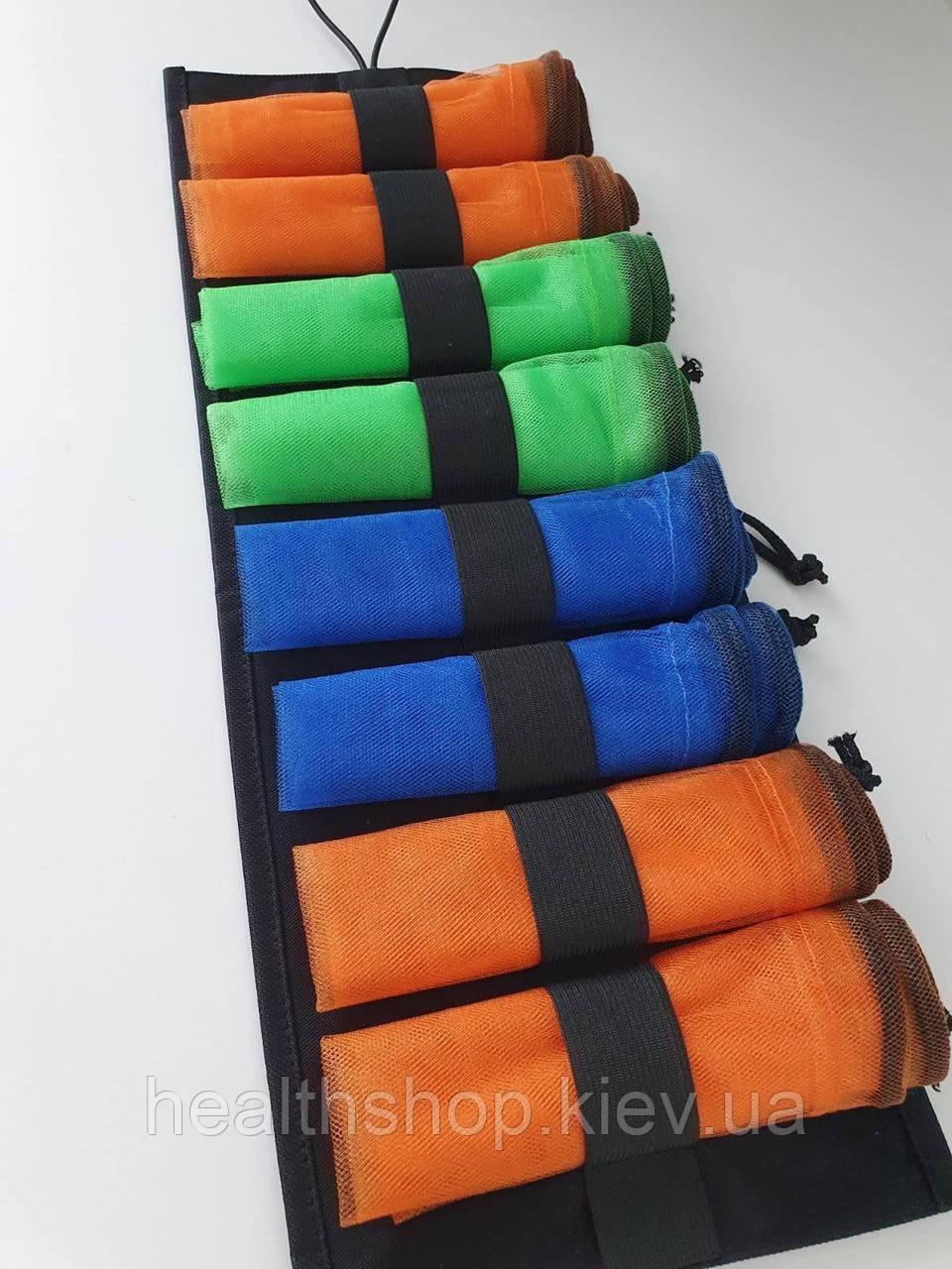 Многоразовые мешочки для продуктов, эко мешочки, сетки для овощей и фруктов 8 шт. (+ органайзер)