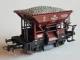 Roco 56245 модель 2х осного саморазгружающегося вагона, принадлежности DB, масштаба 1/87,H0, фото 2