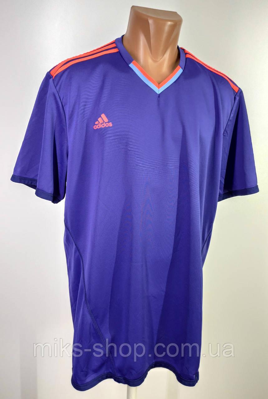 Чоловіча якісна футболка Адідас  Розмір ХХL ( Я-146)
