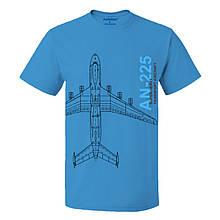 Футболка пилота AN-225, цвет: синий, AVIAMERCH™