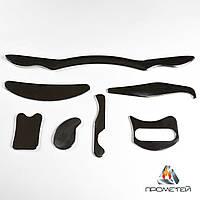 """Набір блейд """"Прометей"""" з нержавіючої сталі - комплект із 7 інструментів для масажу"""