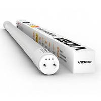LED лампа VIDEX T8b 18W 1.2M 6200K 220V матовая