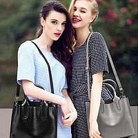 Женская сумка davones черная, фото 1