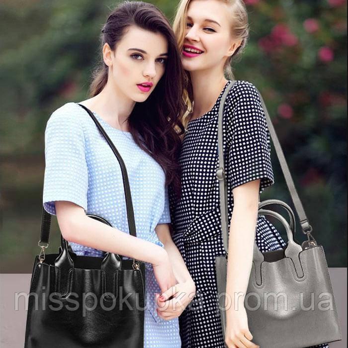 Женская сумка davones черная