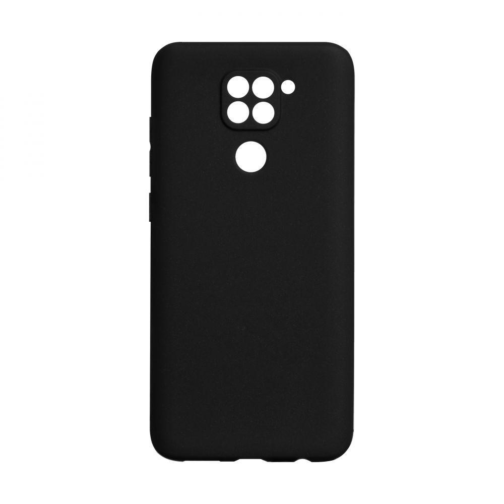 Чехол для Xiaomi Redmi Note 9 черный SMTT / Чехол для Ксяоми Сяоми Ксиоми ноут 9