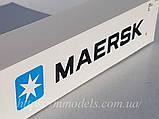 "Faller 180847 Масштабна модель контейнера рефрежиратора 40 футовий ""MAERSK"", масштабу 1/87, фото 2"