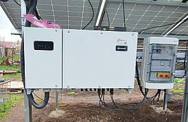 Сетевой инвертор Huawei SUN 2000 33KTL-A трехфазный для солнечной станции и зеленого тарифа