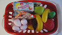 "Корзина с продуктами ""Супермаркет"" 35пр,Орион.Набор корзина продуктовая Супермаркет Орион. Корзинка ""Супермарк"