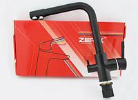 Высокий смеситель на кухню ZERIX LR4055B-3 латунный литой кухонный кран на мойку с выходом для питьевой воды