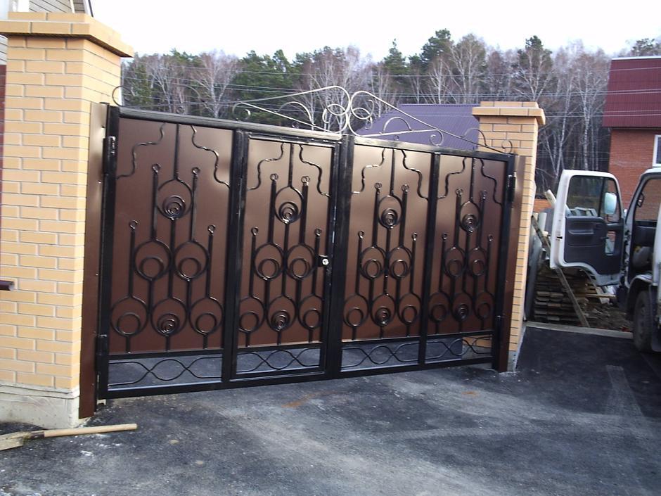 Ковані ворота, хвіртки