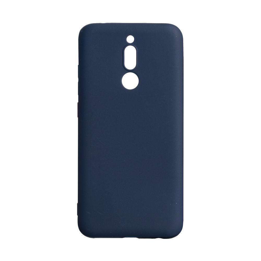 Чехол для Xiaomi Redmi 8 синий SMTT / Чехол для Ксяоми Сяоми Ксиоми 8