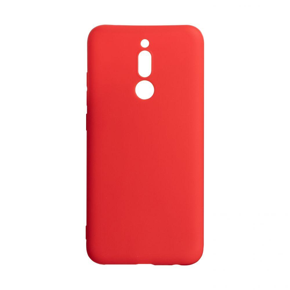 Чехол для Xiaomi Redmi 8 красный SMTT / Чехол для Ксяоми Сяоми Ксиоми 8