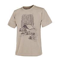 Футболка Helikon-Tex® T-Shirt (Home Sweet Home) - Khaki, фото 1
