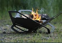 Мангал-Гриль Fire Flower 350*370 чорна сталь 2мм