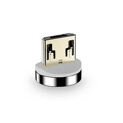 Floveme магнитный коннектор micro USB для зарядки телефона круглый
