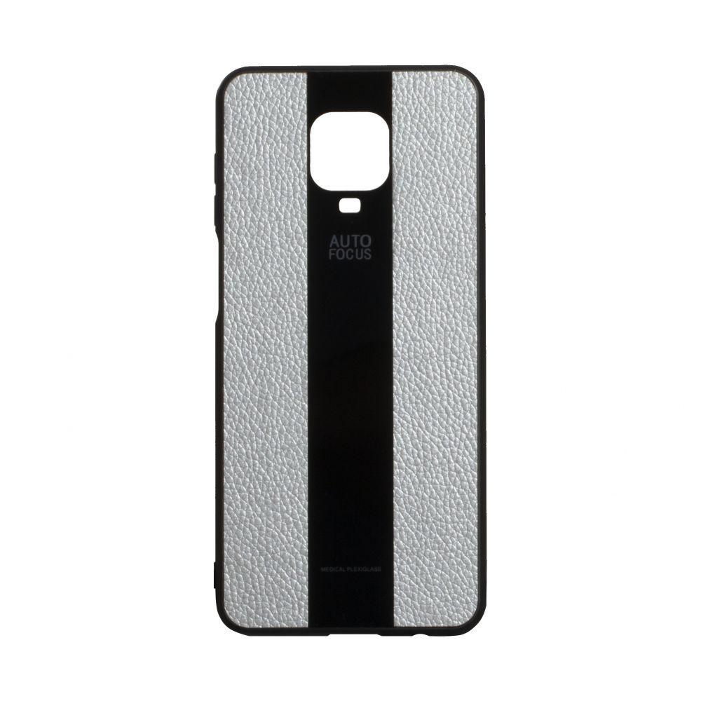 Чехол для Xiaomi Redmi Note 9s / Pro / Max серый  Combi Leather / Чехол для Ксяоми Сяоми Ксиоми ноут 9