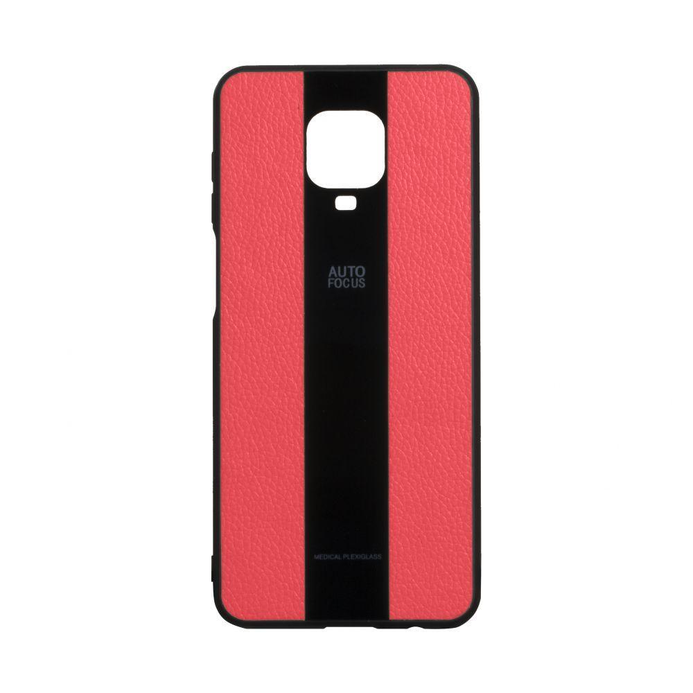 Чохол для  Xiaomi Redmi Note 9s / Pro / Max червоний  Combi Leather / Чохол для  Ксяоми Сяоми Ксиоми ноут 9