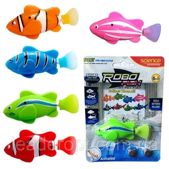 ОПТ Рибка-робот Robofish для купання дитяча Інтерактивна іграшка