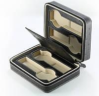 Кожаный футляр для 4 часов Rothenschild RS-4W-OS-B