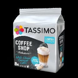 Кофе в капсулах Тассимо - Tassimo White Choco Coconut Latte  ( 8 порций)
