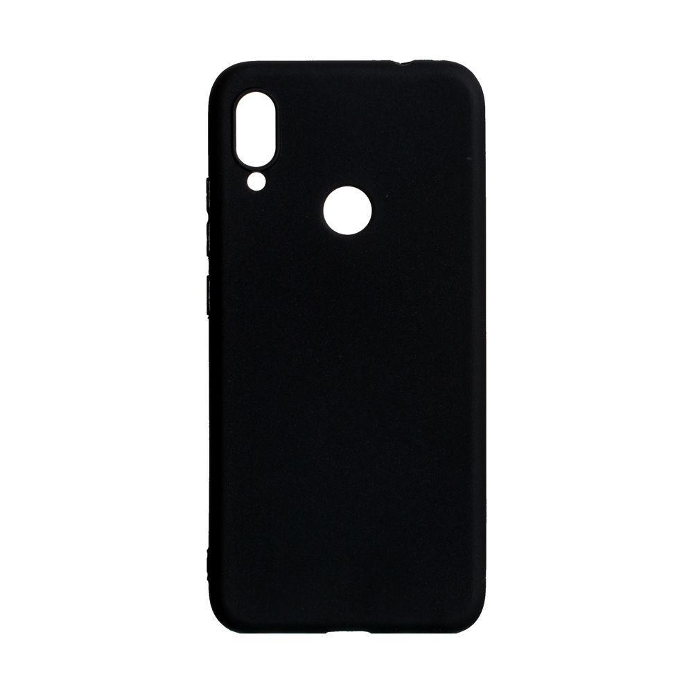 Чехол для Xiaomi Redmi Note 7 черный SMTT / Чехол для Ксяоми Сяоми Ксиоми ноут 7
