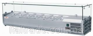 Витрина холодильная для топпинга Frosty VRX 1500/380