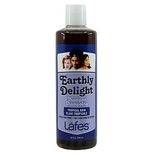 Lafe's Earthly Delight Tropical Rain натуральный шампунь с аргановым маслом, пантенолом, крапивой, 454 мл