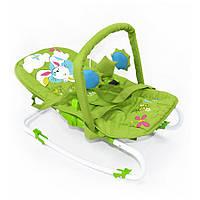 Шезлонг-качалка BT-BB-0001 Green зеленый