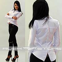 Блузка с молнией на спине