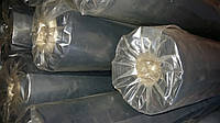 Пленка полиэтиленовая строительная черная 65 мкм рукав 150 см