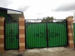 Кованые ограды ворота
