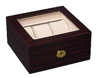 Красивая и качественная шкатулка для часов на 6 отделений Rothenschild RS-841-6EC