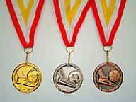 Наградная атрибутика: кубки, медали