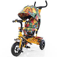 Велосипед трехколесный TILLY Trike T-351-7 Gold золотой (57216)