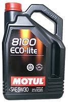 Моторное масло синтетика MOTUL (Мотюль) 8100 ECO-LITE 5W-30 5л.