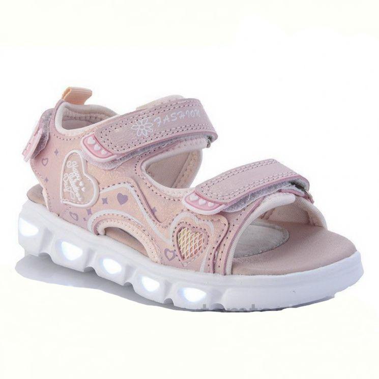 Босоніжки, сандалі з LED-підсвічуванням. Розміри 26, 27, 28.