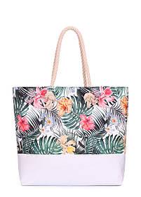 Літня сумка Palm Beach з тропічним принтом