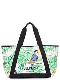 Літня сумка Laguna з тропічним принтом