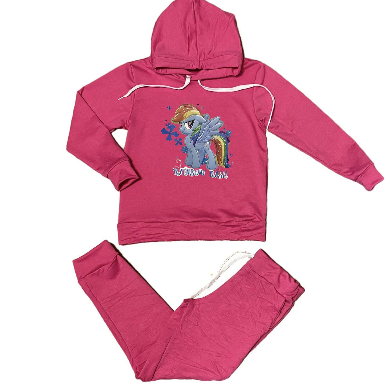 Спортивний костюм для дівчинки Поні, 128см