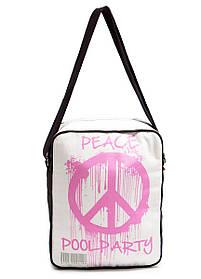 Чоловіча сумка POOLPARTY Peace з ременем на плече