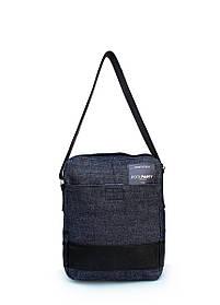 Чоловіча джинсова сумка POOLPARTY з ременем