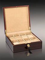 Деревянная шкатулка для хранения часов на 8 отделений Rothenschild RS803-8-E