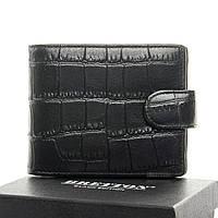 Кошелёк мужской кожаный BRETTON  11 5*9.5*2.5 черный, фото 1
